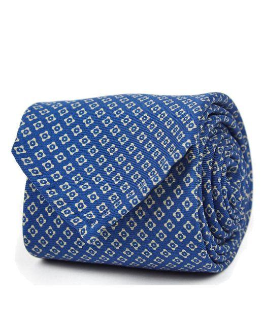 Bleu Pâle Micro Floral Soie Cravate Rubinacci 6LXDR4h2