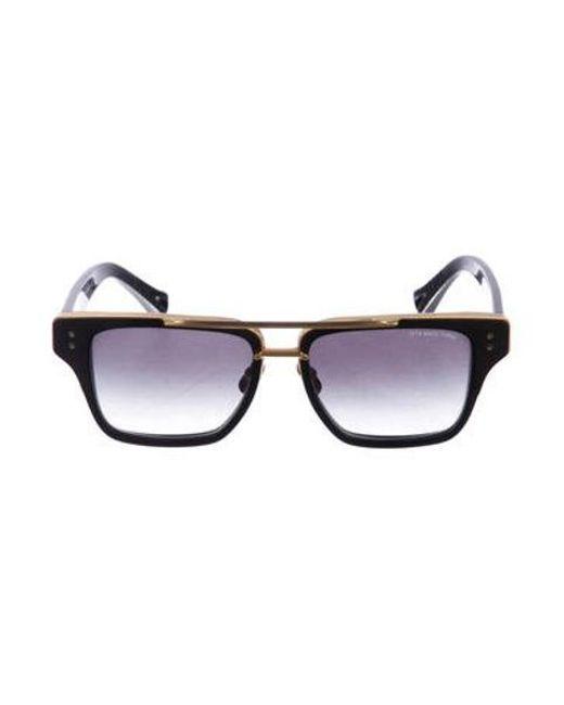 9abc1fab631 Dita - Metallic Mach Three 18k Sunglasses Green - Lyst ...