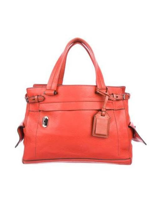e15f3e1b2b89 Reed Krakoff - Gray Leather Boxer Bag Orange - Lyst ...