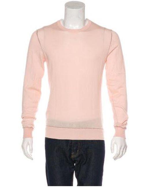 cca828ae3 Miu Miu - Black Miu 2007 Crew Neck Knit Sweater for Men - Lyst ...
