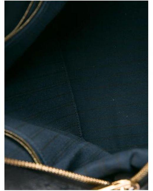 Lyst Louis Vuitton Empreinte Lumineuse Pm Bleu In Blue