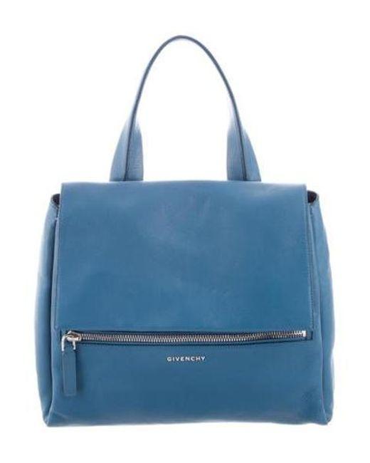 73c529aa6b Givenchy - Metallic Pandora Pure Bag Silver - Lyst ...