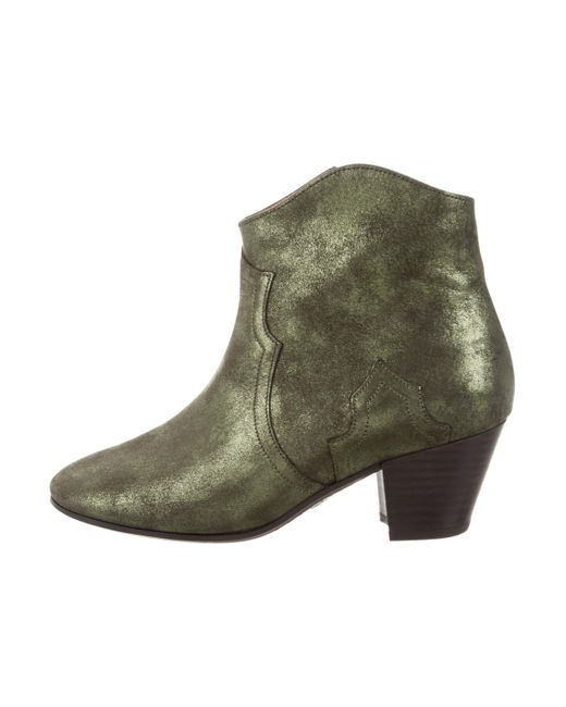 buy cheap latest Isabel Marant Dicker Leather Ankle Boots w/ Tags cheap low price fee shipping countdown package sale online free shipping perfect clearance classic UsCm7mR