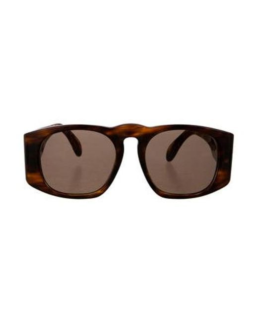 c824a9b220a Chanel - Metallic Quilted Cc Sunglasses Brown - Lyst ...