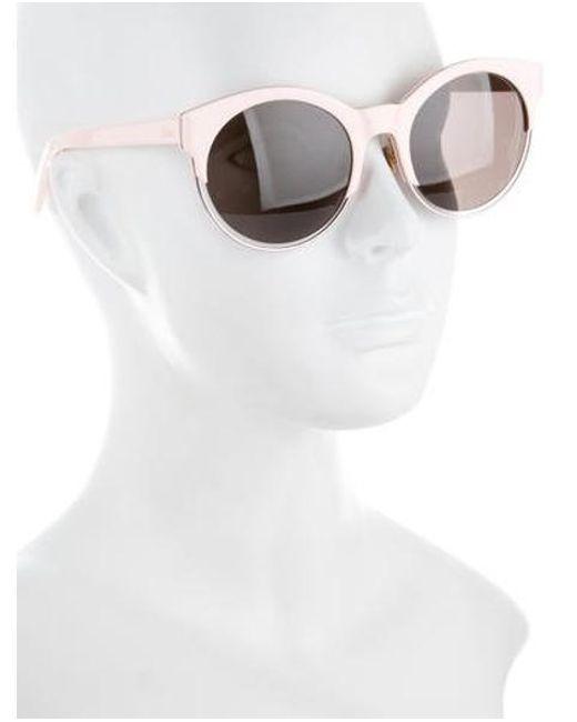 8a15d5d0ed ... Dior - Metallic Sideral 1 Sunglasses Pink - Lyst
