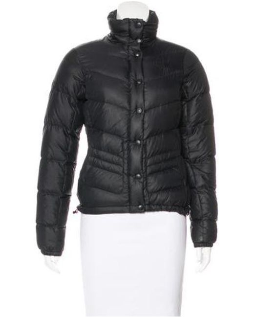 0c77f1753e The North Face - Natural Puffer Zip Up Jacket Black - Lyst ...