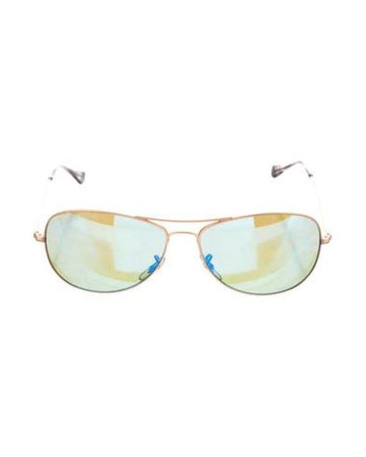 1d06017261 Ray-Ban - Metallic Chromance Polarized Sunglasses Gold - Lyst ...
