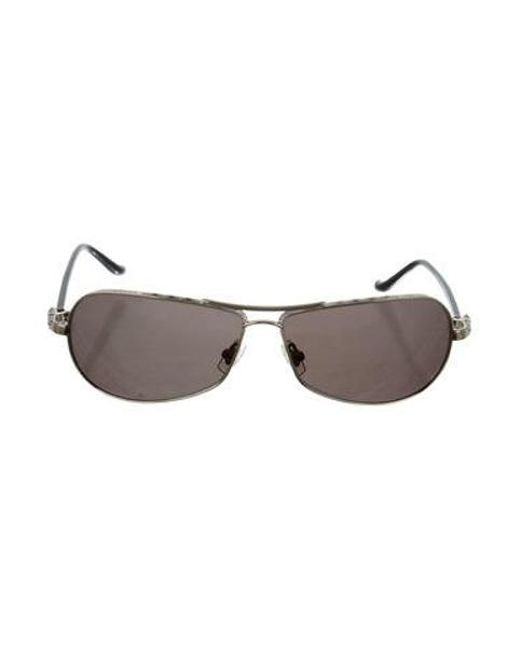 135f556a66f3 Chrome Hearts - Metallic Red Tinted Sunglasses Gold - Lyst ...