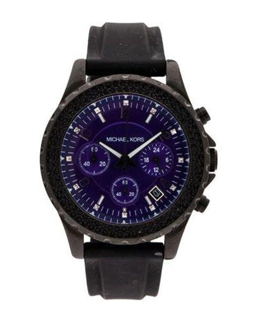 9140f5c99cfa Michael Kors - Metallic Ladies Watch - Lyst ...