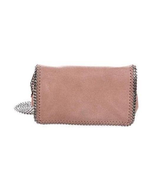 e924f9f1f7a5 Stella McCartney - Pink Shaggy Deer Falabella Crossbody Bag - Lyst ...
