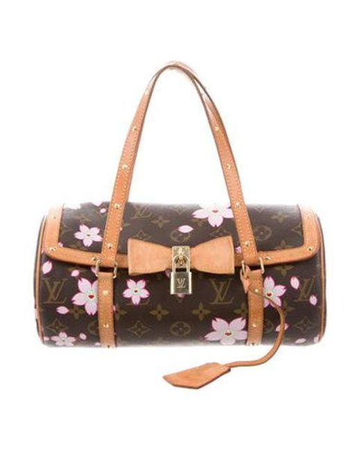 940a8a1a68c5 Lyst - Louis Vuitton Cherry Blossom Papillon Brown in Natural - Save ...