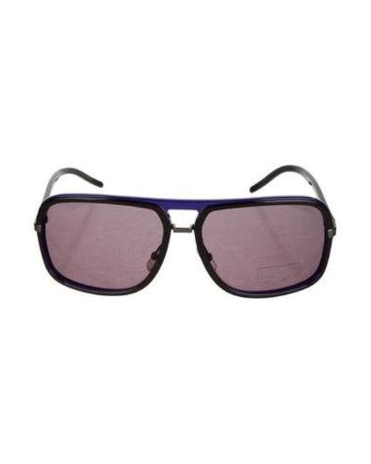 a1eae54b6e14e Dior - Black Tinted Oversize Sunglasses - Lyst ...