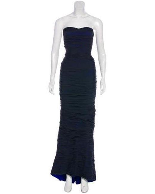 f4adffa54cc8e Diane von Furstenberg - Blue Silk Delphiney Dress W  Tags - Lyst ...