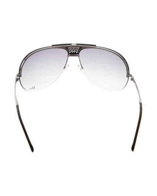 52ad78c7ff8 ... Dior - Metallic Remove Rimless Sunglasses Silver - Lyst ...