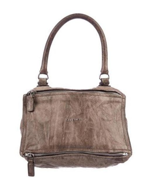 a85208092b Givenchy - Metallic Small Pandora Bag Brown - Lyst ...