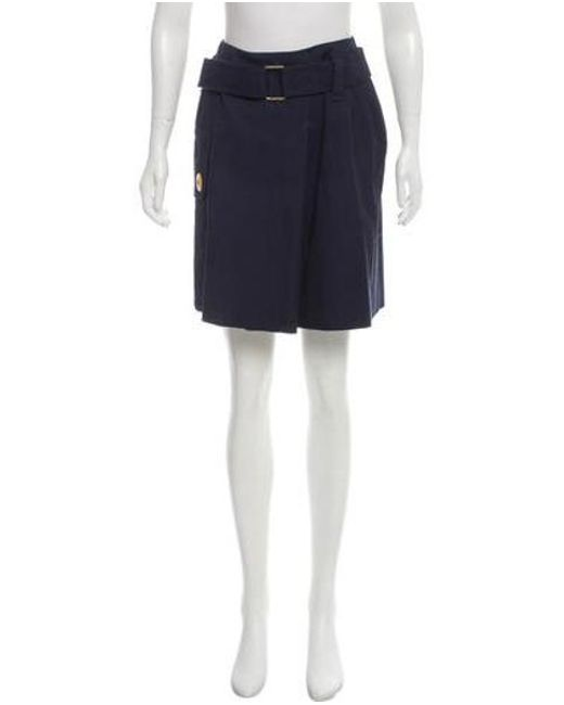 2246c4da7 Marc Jacobs - Blue Belted Wool Skirt W/ Tags Navy - Lyst ...