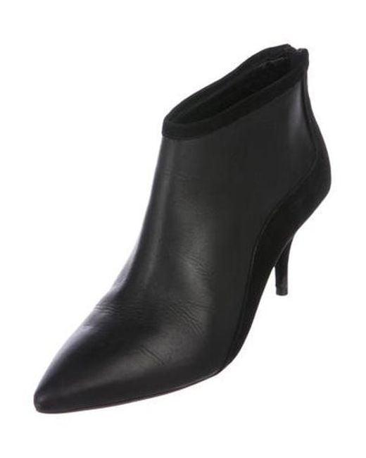 bc6c9109cb58 ... Loeffler Randall - Black Mid-heel Ankle Booties - Lyst ...