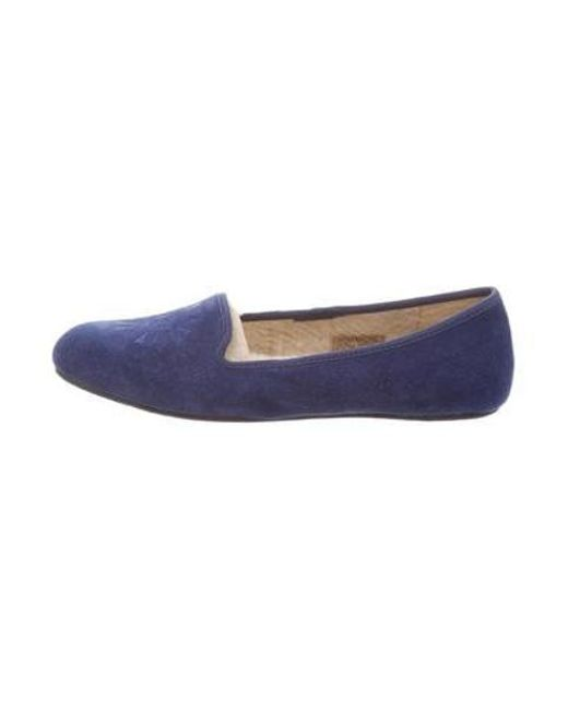 30c617d4970 Ugg - Blue Alloway Round-toe Loafers W  Tags - Lyst ...