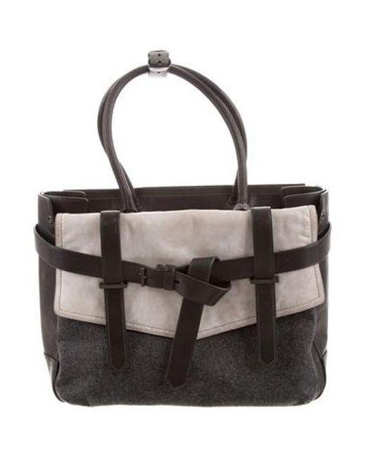Reed Krakoff Gray Boxer I Bag Black Lyst