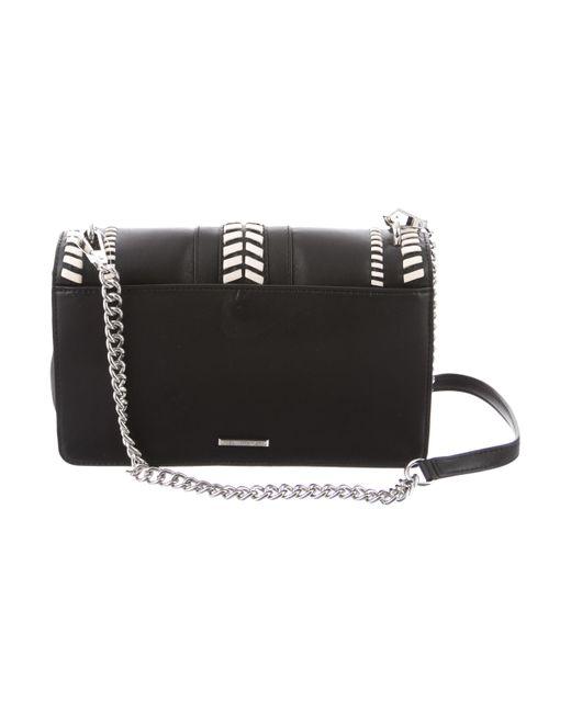 4ba5cb6139 ... Rebecca Minkoff - Metallic Bicolor Love Crossbody Bag W  Tags Black -  Lyst ...