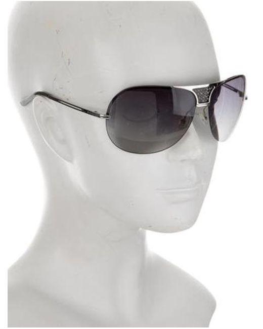 f4900fed9a5 ... Dior - Metallic Remove Rimless Sunglasses Silver - Lyst