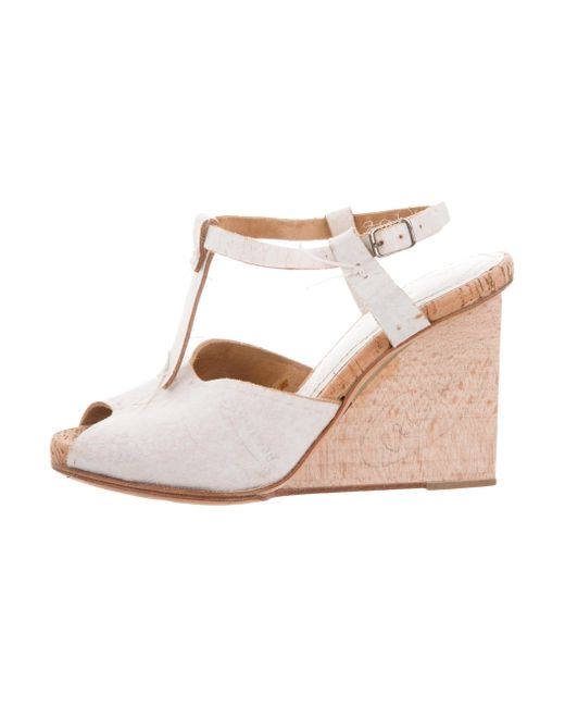 Barney's New York Martin Wedge Sandals w/ Tags outlet fake 8BT7jEIuC