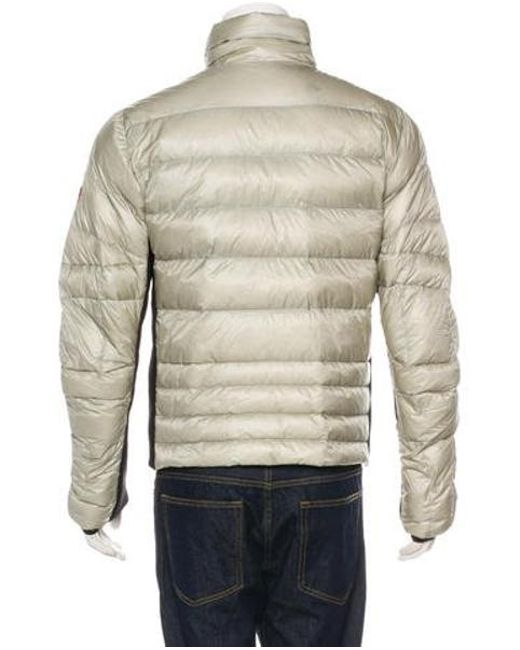 c3bd21945370 ... new zealand moncler grenoble metallic canmore down jacket silver for men  lyst 97767 0ebed ...