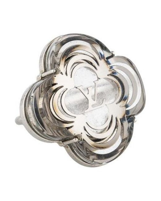 Louis Vuitton - Metallic La Folie Cocktail Ring Silver - Lyst