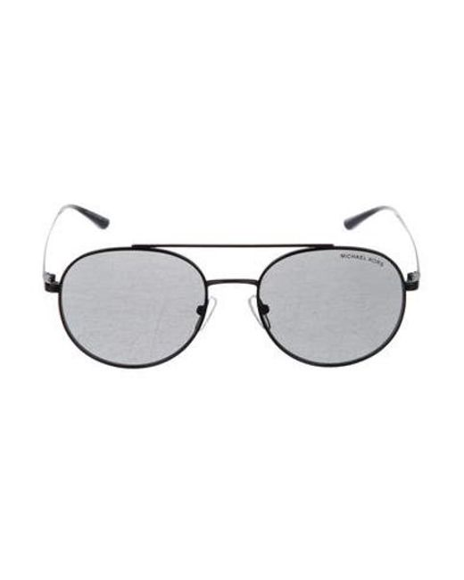 bd44d0af2b Michael Kors - Black Lon Tinted Sunglasses - Lyst ...