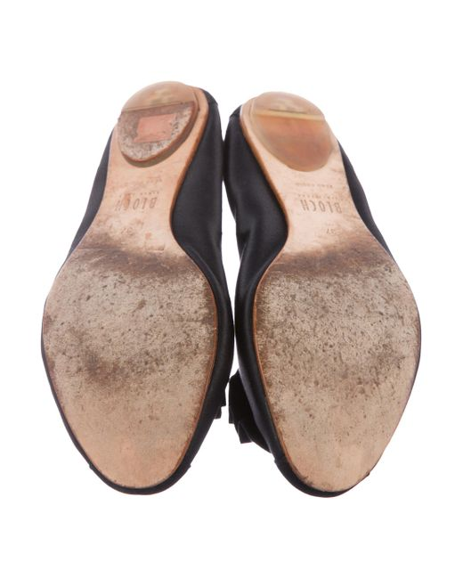 Bloch Satin Round-Toe Flats cheap sale factory outlet PTY0WtTWp