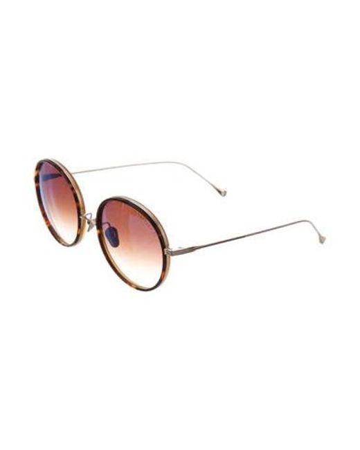 10839ee36ad ... Dita - Metallic Freebird Tinted Sunglasses Gold - Lyst ...