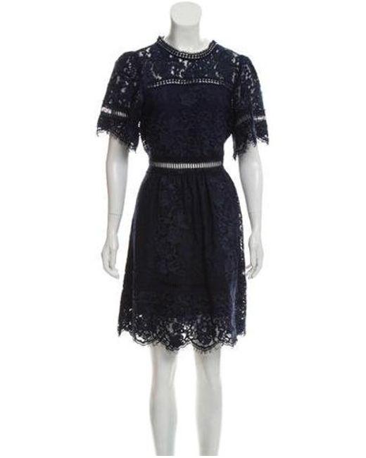 1ee3bd4215e Sea - Blue 2017 Lace Dress Navy - Lyst ...
