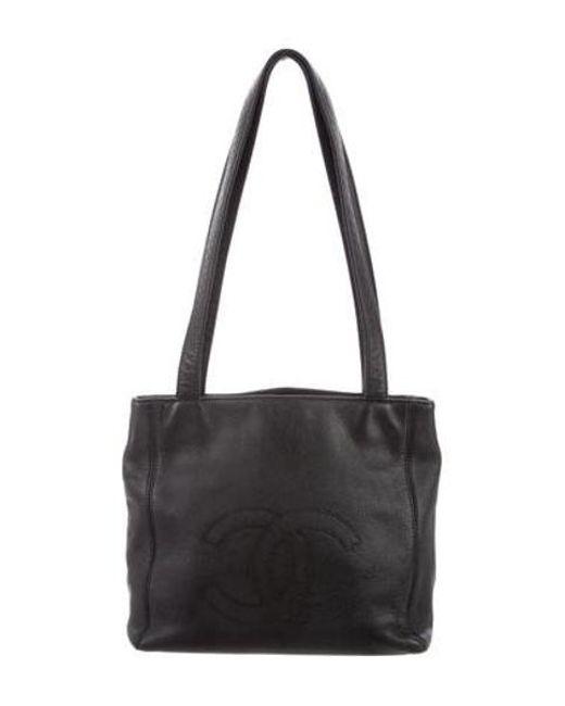 b387c5bff0ae Chanel - Metallic Vintage Timeless Shoulder Bag Black - Lyst ...
