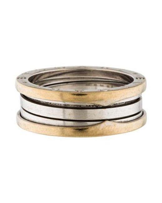BVLGARI - Metallic B. Zero 1 Band Ring Yellow for Men - Lyst
