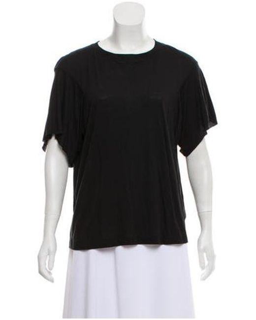 Helmut Lang - Black Short Sleeve T-shirt - Lyst