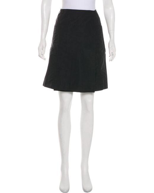 Jil Sander Knee-Length A-Line Skirt Online Sale Online 26Wnbfb