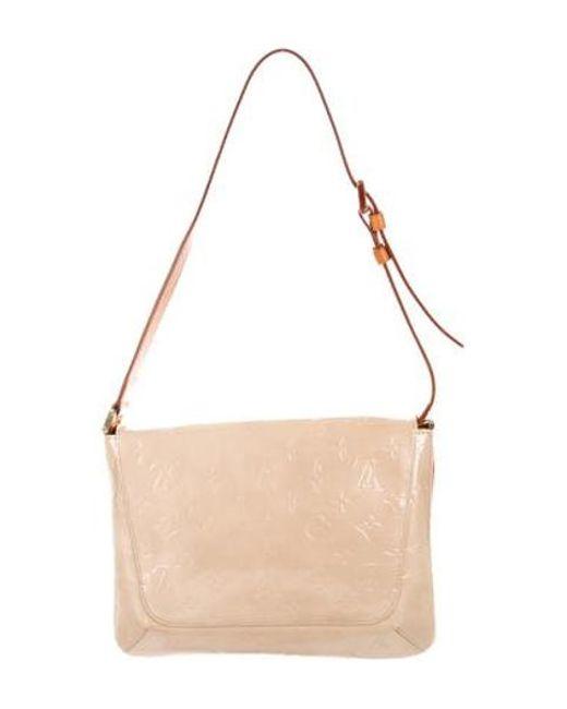 0affa9c2dcef ... Louis Vuitton - Natural Vernis Thompson Street Bag Brass - Lyst
