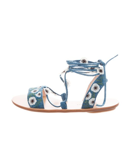Loeffler Randall 2018 Fleura Embroidered Sandals w/ Tags cheap buy authentic shop offer cheap price latest collections online pay with visa KPUQuI56