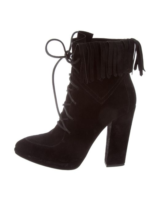 Giuseppe Zanotti Fringe-Trimmed Ankle Boots wiki for sale clearance get authentic outlet visit new outlet shop for cheap low shipping p7iLfL3h