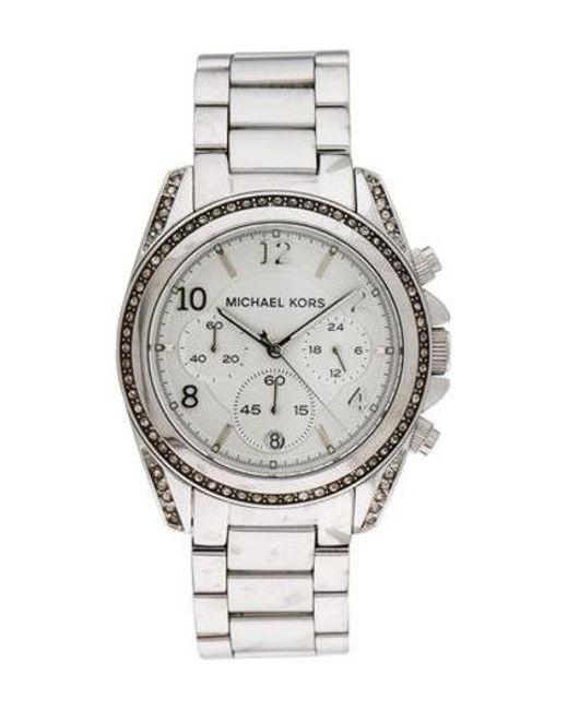 e0abd4d4d2ef Michael Kors - Metallic Blair Watch - Lyst ...