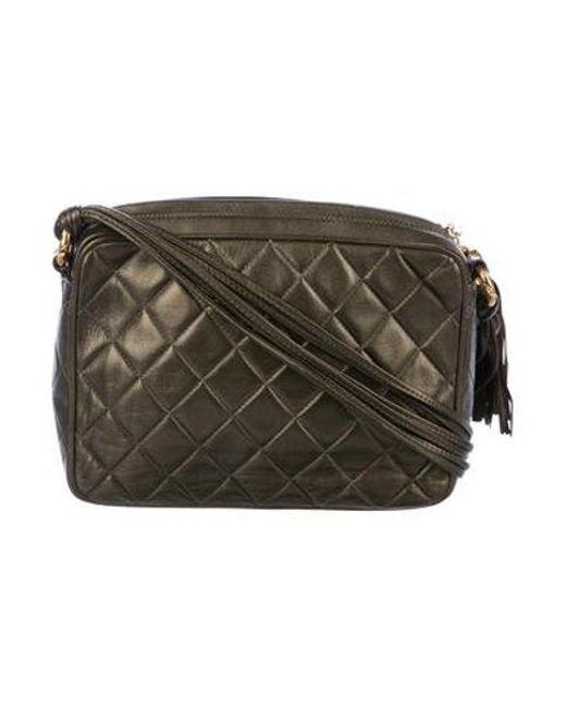 ... Chanel - Metallic Vintage Cc Camera Bag Gold - Lyst 404ed637f015e