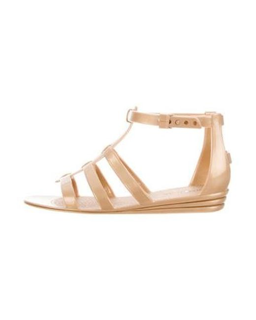 Marc Jacobs - Brown Rubber Cage Sandals W/ Tags - Lyst