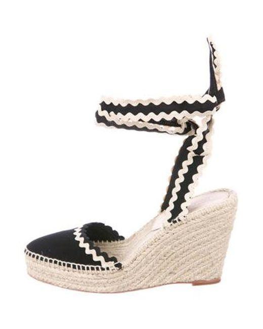 8d7ce02d0b3 Women's Natural Espadrille Wedge Sandals Black