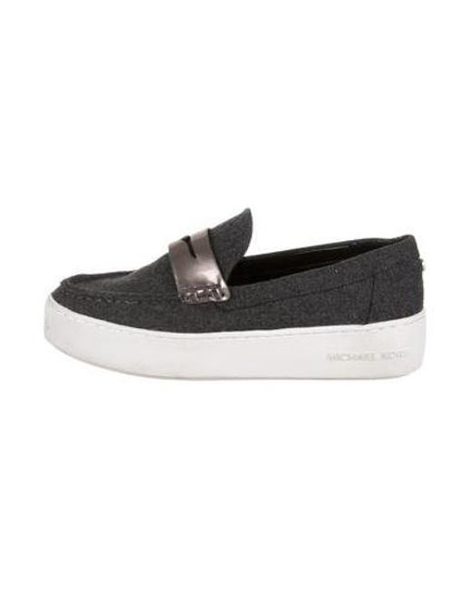 71df9871864b MICHAEL Michael Kors - Gray Michael Kors Wool Slip-on Sneakers Grey - Lyst  ...