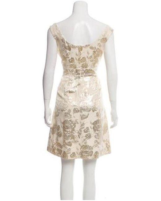 0c38b0c84bc ... Kate Spade - Metallic Deanna Brocade Dress W  Tags Gold - Lyst