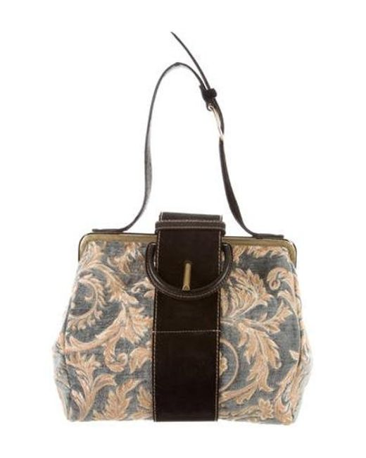 8bc05167b274 ... Adidas Originals - Metallic Embroidered Shoulder Bag Beige - Lyst ...  brand new 4d1ad ...