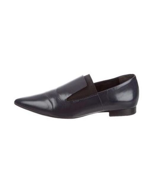 dec83e2fa16fa2 Alexander Wang - Blue Jamie Pointed-toe Loafers Navy - Lyst ...