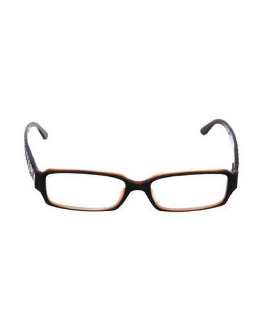 23ce5afaa2c Chanel - Black Cc Narrow Eyeglasses - Lyst ...