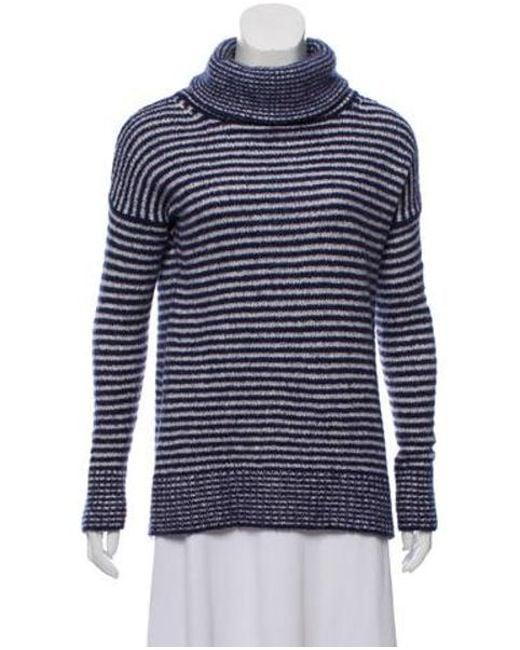 99c7b3331e Brunello Cucinelli - Blue Cashmere Turtleneck Sweater Navy - Lyst ...