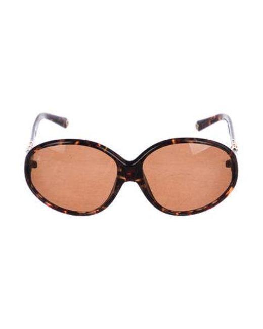 6ae856ab8d Louis Vuitton - Brown Iris Pm Sunglasses - Lyst ...
